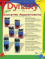 Dynasty Artist Brush Canister Assortment - New